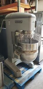 Hobart Hl1400 Legacy 140qt Mixer 5 H p 90 Day Warrant With Ss Bowl And Hook