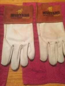 Mustang Brand Gloves Sewn With Kevlar