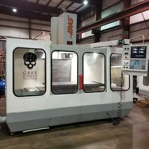 Haas Vf 3 Cnc Vertical Milling Machine 4th Axis Ready