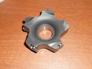 New Kennametal Indexable Milling Cutter 4 Dia With 5 Inserts Made In Germany