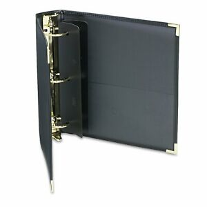 Samsill Classic Collection Ring Binder 11 X 8 1 2 2 inch Capacity Black