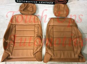 2008 2010 Jeep Wrangler Katzkin Leather Seat Covers Kit Autumn Tan 4 Door Custom
