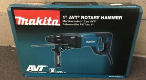 Makita Model Hr2621 8 amp 1 In Sds plus Avt Rotary Hammer New