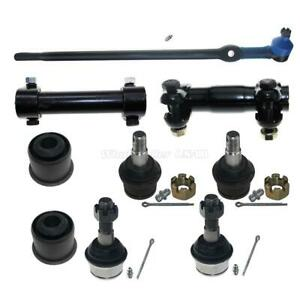 Suspension Set Tie Rod Sleeve Lower Upper Ball Joint For 93 94 Ford Explorer 4wd