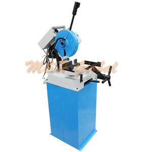 Cold Cut Saw Swivel Base Circular Coldsaw Metal Cutting 110v 1 Phase 1 5hp 11