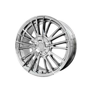 17 Inch 17x7 5 Verde Influx Chrome Wheel Rim 5x115 40