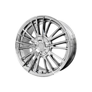 18 Inch 18x7 5 Verde Influx Chrome Wheel Rim 5x4 13 5x105 40