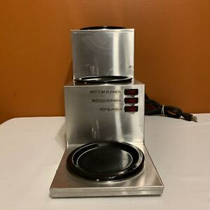 Grindmaster Bw 3t Commercial Countertop Three Tier Coffee Warmer Station Tested
