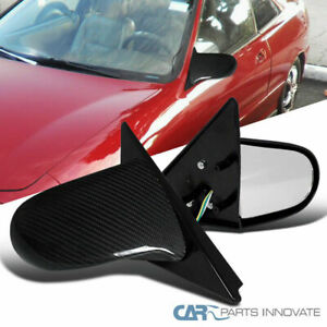 94 01 Acura Integra 2dr Hatchback Real Carbon Jdm Spoon Power Mirrors Left Right