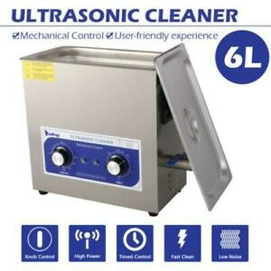 6l Sonic Dental Lab Use Ultrasonic Cleaner Top grade Material