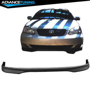 Fits 05 06 Toyota Corolla Tr Style Front Bumper Lip Pp