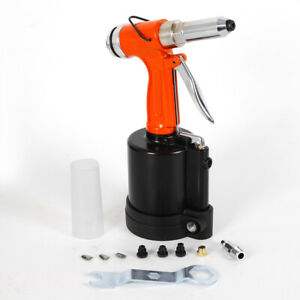 Pneumatic Air Hydraulic Pop Rivet Gun Riveter Industrial Nail Riveting Tool Usa