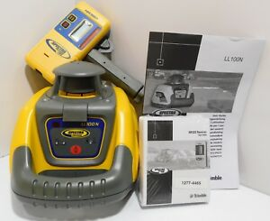 Spectra Precision Ll100n Laser Level Kit With Hr320