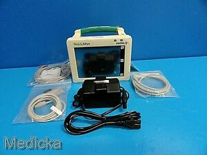 Welch Allyn Propaq Cs 242 Patient Monitor W New Ecg spo2 Cable nbp Hose 17368