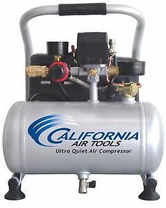 California Air Tools 1p1060s Light Quiet Air Compressor used