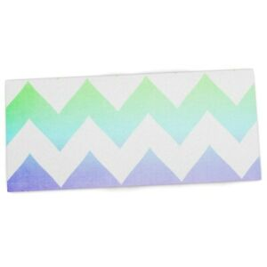Kess Inhouse Catherine Mcdonald water Color Chevron Office Desk Mat Blotter