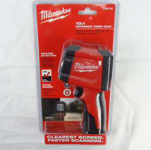 Milwaukee 2267 20 Laser Temperature Gun Infrared 10 1 Thermometer New