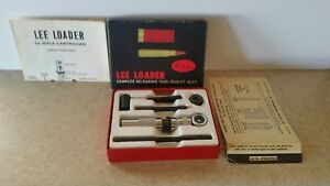 Vintage 1960's Lee Loaders Four Calibers Available Choose One