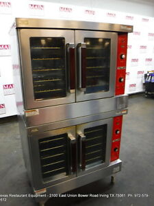 Vulcan Vc4ed Electric Double Deck Full Size Convection Oven