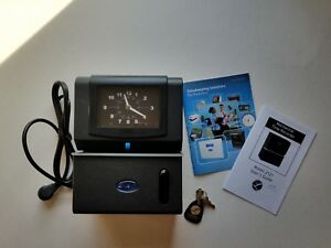 Time Clock Heavy Duty With Key And Manual Model 2121