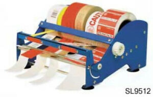 12 Label King Multi Roll Tape Label Dispenser Blue Sl9512