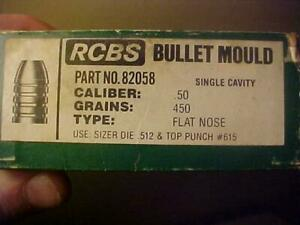 N.O.S RCBS 82058 50 CAL SHARPS MOLD MOULD... FREE SHIPPING