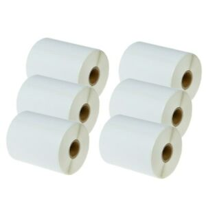 6roll Address Postage Labels 1744907 For Dymo Labelwriter 4xl 104mm X 158mm