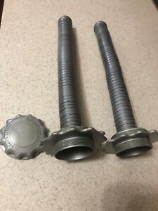 2 Edwards Gas Nozzles Edward Can Company 1 With Rare Cap