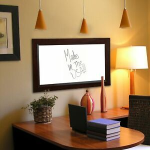 American Made Rayne Dark Walnut Dry Erase Board