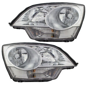 Chevrolet Captiva Sport Saturn Vue Hybrid Set Of Headlights 22886833 22886834
