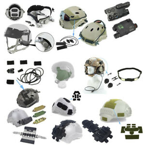 Tactical Fast Helmet Accessory Headset Adapter Loop Battery Case Counterweight