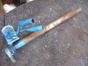 Vintage Ford 1210 3 Cyl Diesel Tractor clutch Fork Shaft