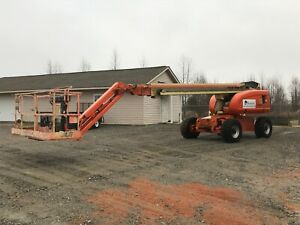 2007 Jlg 660sj Boom Lift With Articulating Jib 66 72ft Lift 3715 Hrs