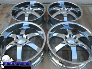 22 Boss Motorsports 330 Chrome Wheels Rims Chevy Gmc 6x139 7 Tahoe Gmc Yukon