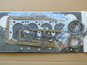 Complete Engine Gasket Set For Ih International 154 Cub Lo boy 184 185 Farmall