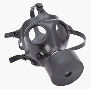 Tactical Israeli Respirator Gas Mask W military Sealed 40mm Nato Filter Nbc