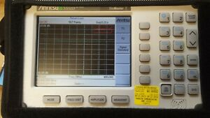 Anritsu S331d Site Master With Accessories Opt 3 Color Screen