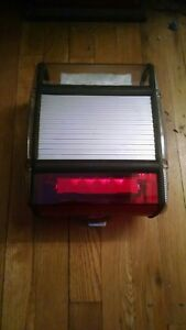 Federal Signal Micro escape Led Mini Lightbar Red Demo Unit Works Great