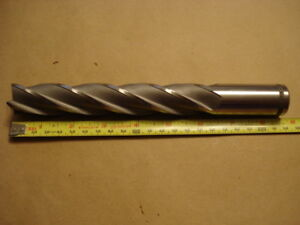 New Weldon End Mill 4 Flute 1 Dia X 1 Shank X 8 3 4 Oal 6 Loc