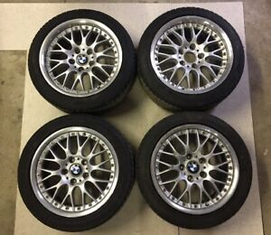 Bmw Bbs 2 Piece Style 42 Wheels Z3 Fitment 17x7 5 17x8 5 Full Set W Tires