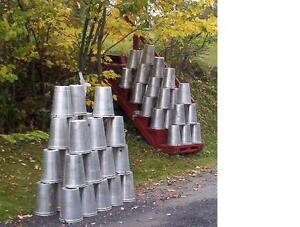 25 Great Aluminum Sap Buckets Maple Syrup Bucket 2 Gallon Need More
