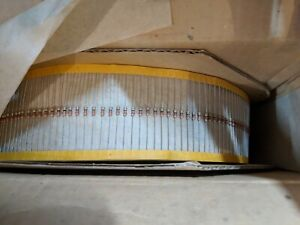 Lot Of 5 000 Carbon Film Resistors