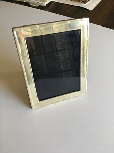 Vintage Sterling Silver 5x7 Frame By Carrs