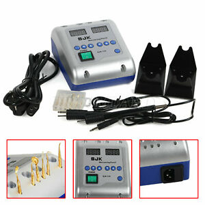 Dental Lab Electric Waxer Wax Knife Die Carving 2 Pen 6 Tips W 2 Circuits