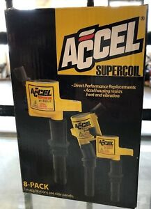brand New Accel Ignition Coil 140032 8 Super Coil