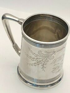 Vintage Sterling Silver Drinking Cup By Whiting Co Circa 1878