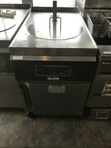 Giles Electric Deep Fryer With Filter System And Auto Lift Gef 720 Oil Filer