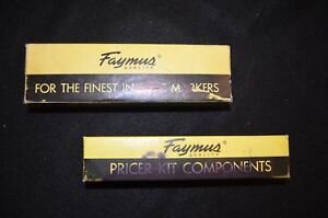 Vintage Faymus Price Marker With Ink Boxes Supplies