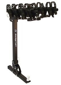63381 Swagman Trailhead 2 Receiver Hitch Mount Foldable 4 Bike Carrier Rack