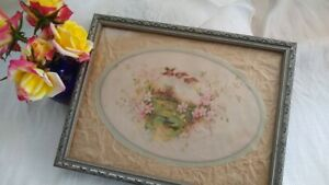 1930 S Grey Wood Picture Frame 7 X 9